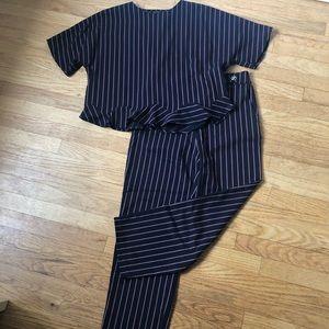 Zara Other - Zara Two-Piece Striped Set